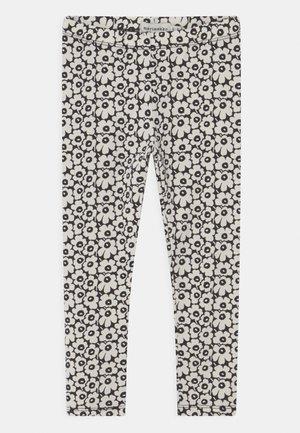 LAIRI PIKKUINEN UNIKKO - Leggings - Trousers - black/off white