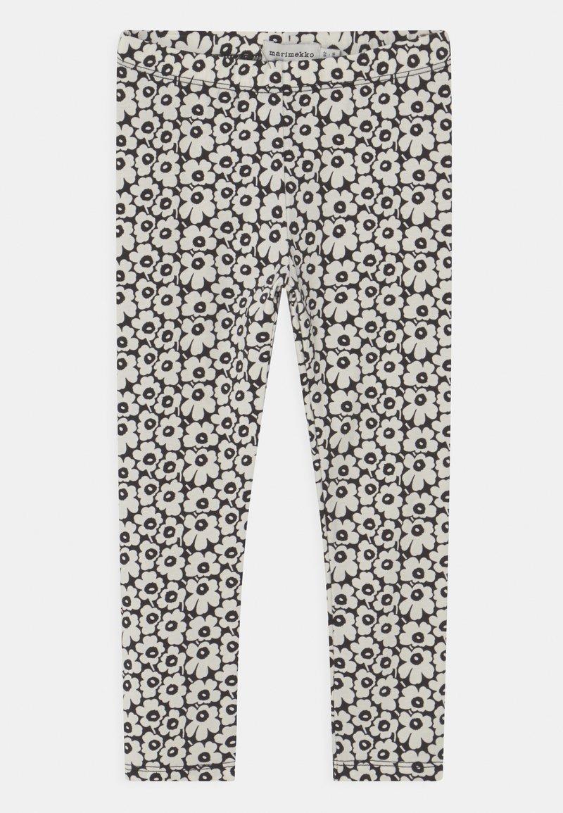 Marimekko - LAIRI PIKKUINEN UNIKKO - Leggings - Trousers - black/off white