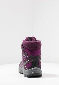 Salomon - XA PRO 3D WINTER TS CSWP - Winter boots - dark purple/potent purple/atlantis - 4