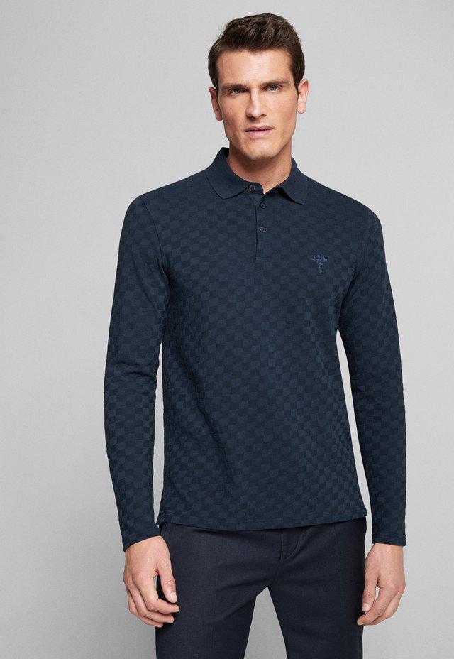LONGSLEEVE CELIAN - Polo shirt - dunkelblau