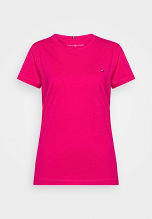 NEW CREW NECK TEE - T-shirts - bright jewel