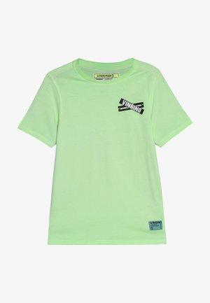 HIXX - Print T-shirt - neon green