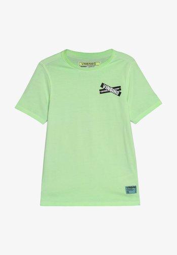 HIXX - Printtipaita - neon green