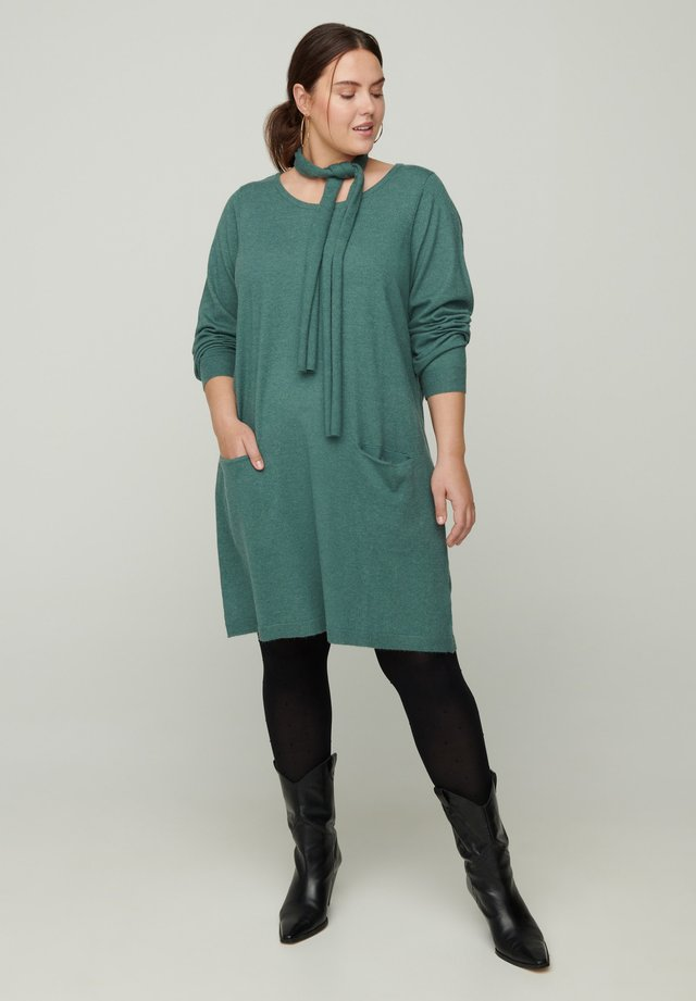 Robe pull - dark green
