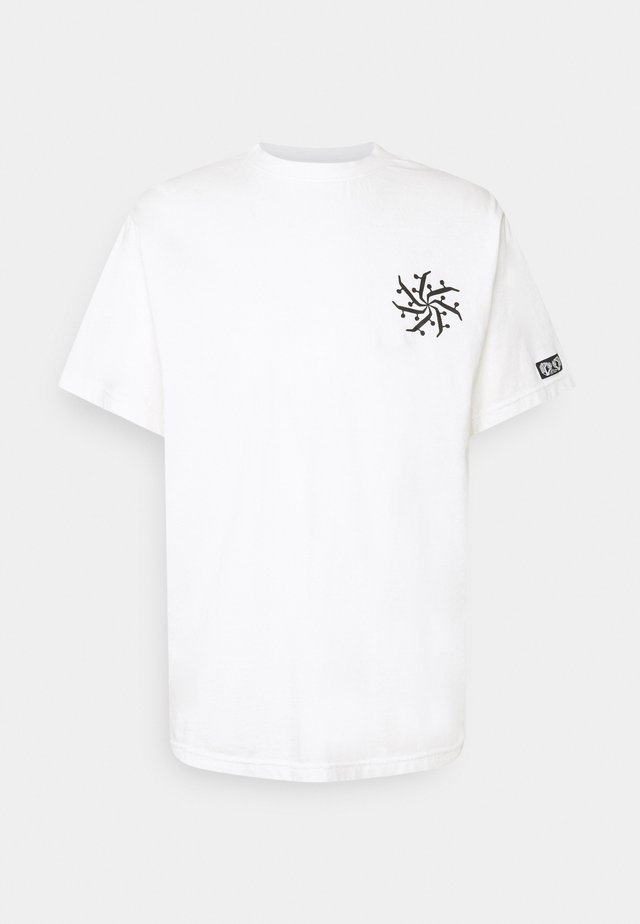 AFTER SKATE - Print T-shirt - off white