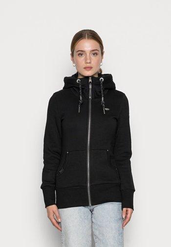 NESKA ZIP - Felpa con zip - black