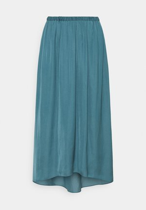 TANDRA - Pleated skirt - tide blue