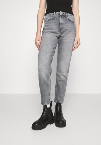 ONLVENEDA LIFE MOM  - Relaxed fit jeans - grey denim/multi-coloured