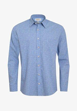 GUSTL SLIM FIIT - Shirt - blau
