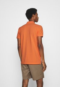TOM TAILOR DENIM - WITH SMALL EMBROIDERY - Polo shirt - orange neon - 2