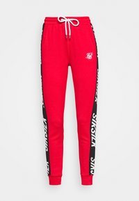 SIKSILK - CHASER TRACK PANT - Tracksuit bottoms - red - 4