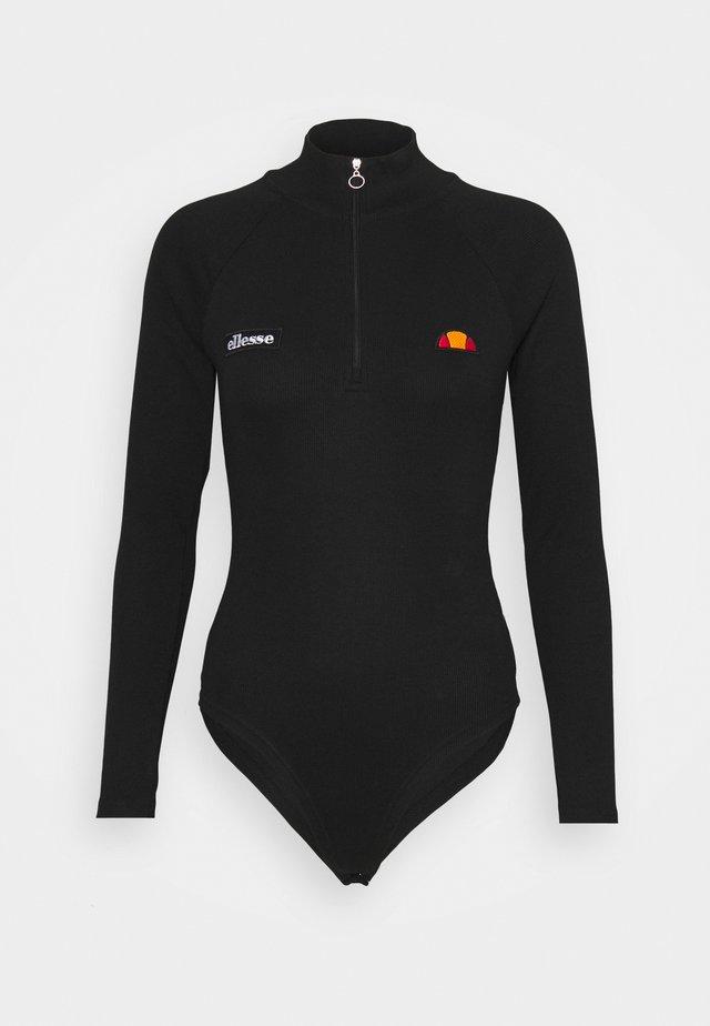 VIVIENNE - Pitkähihainen paita - black