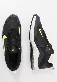 Nike Performance - AIR MAX ALPHA TRAINER 2 - Sports shoes - black/volt/dark smoke grey/spruce aura - 1