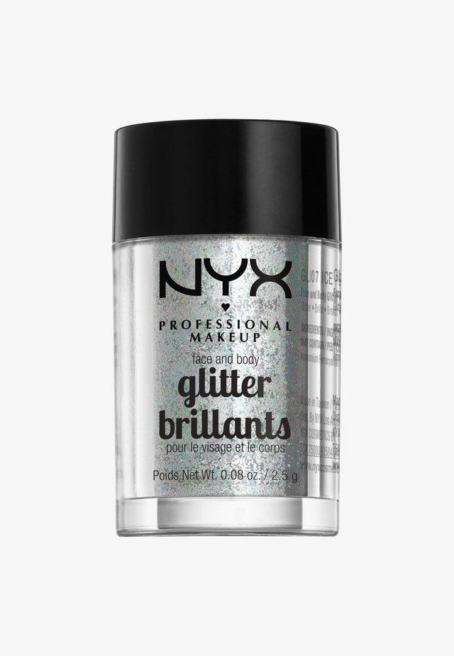 FACE & BODY GLITTER - Glitter & jewels - 7 ice