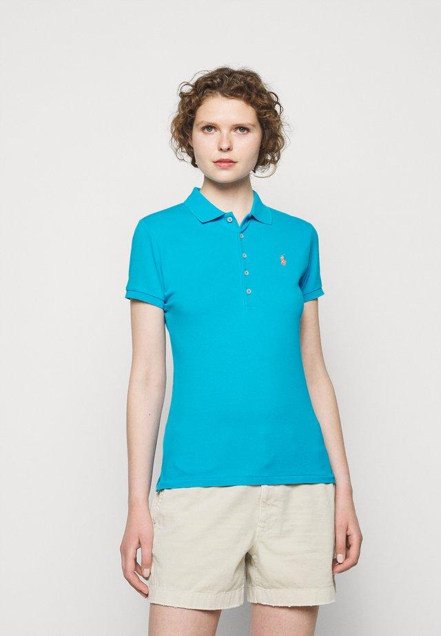 Poloshirt - cove blue