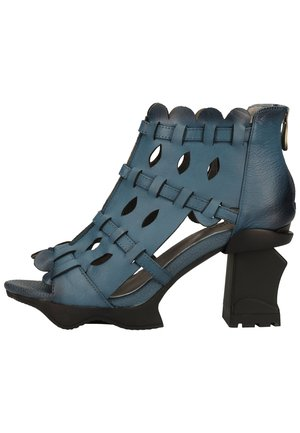 LAURA VITA SANDALEN - High heeled sandals - jeans