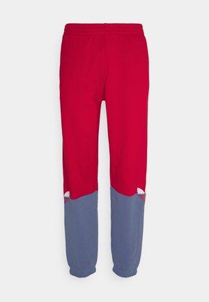 SLICE - Pantalon de survêtement - scarlet/crew blue