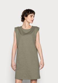 Opus - WELBAN - Day dress - soft moss - 0