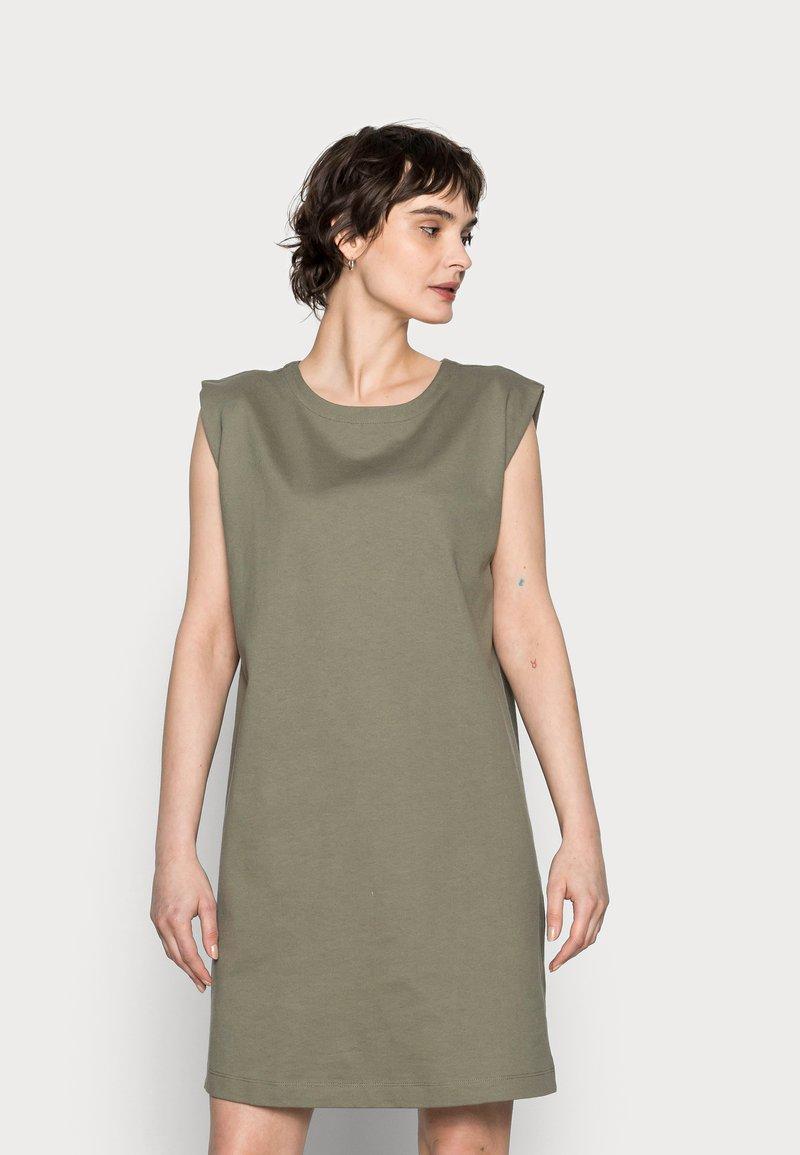 Opus - WELBAN - Day dress - soft moss