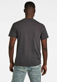 G-Star - GRAPHIC RAW - T-shirt con stampa - raven - 1