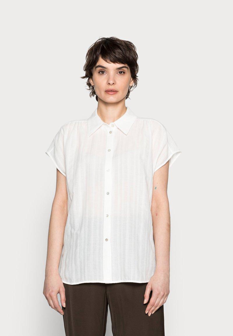Opus - FASPI - Button-down blouse - milk