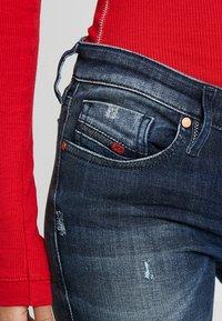 Diesel - SKINZEE LOW ZIP - Jeans Skinny Fit - indigo style exclusive - 4