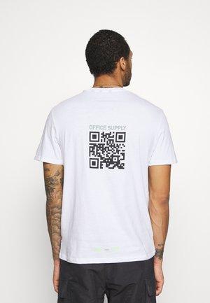 ONSMILO LIFE TEE - T-shirt med print - white