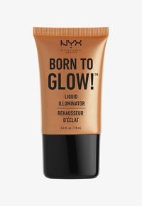 Nyx Professional Makeup - HIGHLIGHTER BORN TO GLOW LIQUID ILLUMINATOR - Highlighter - 3 pure gold - 0