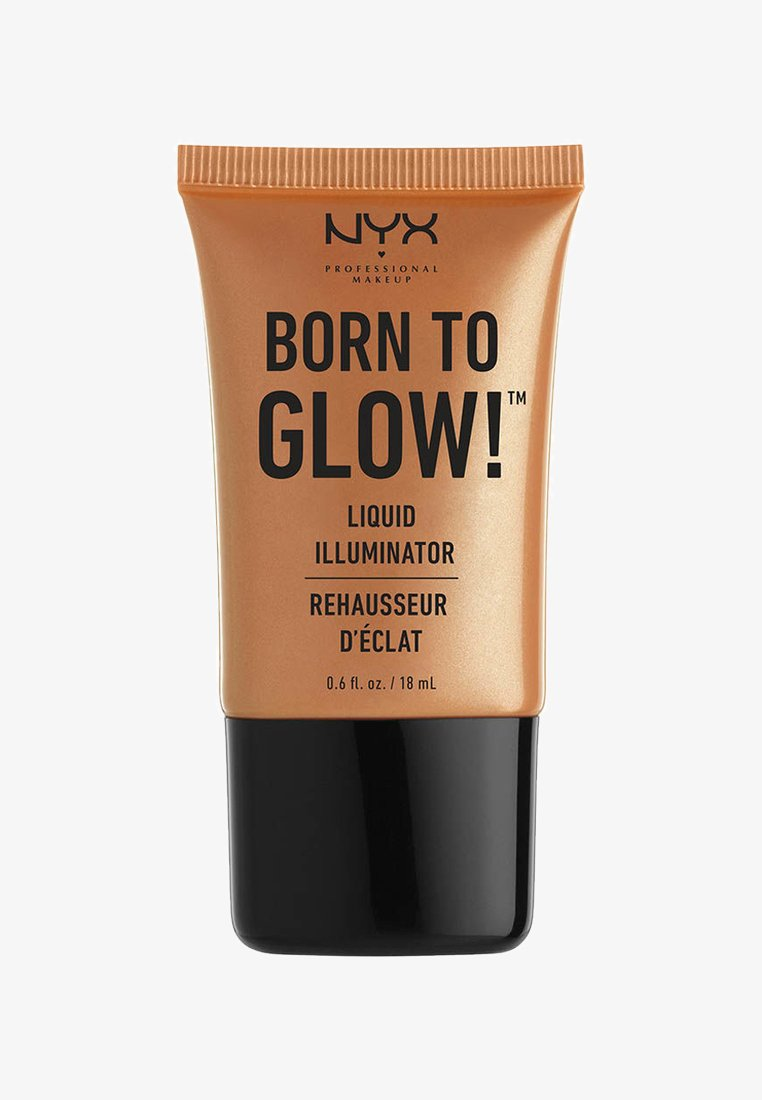 Nyx Professional Makeup - HIGHLIGHTER BORN TO GLOW LIQUID ILLUMINATOR - Highlighter - 3 pure gold