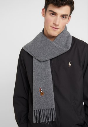 BIG MULT - Halsduk - fawn grey heather