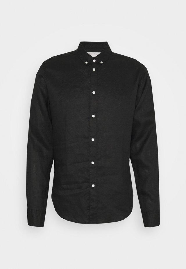 KOCHI SLIM FIT - Overhemd - black