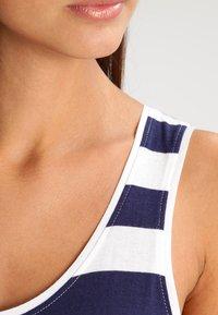 Zalando Essentials - Maxi dress - navy/off-white - 4