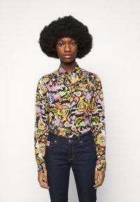 Versace Jeans Couture - LADY SHIRT - Blouse - black - 0