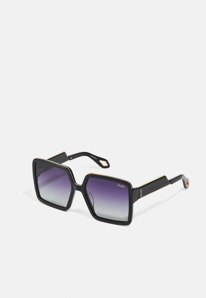 QUAY AUSTRALIA - ALMOST READY - Occhiali da sole - black/smok