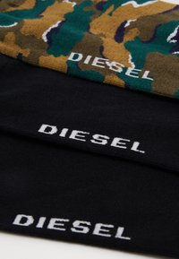 Diesel - SKM-RAY 3 PACK - Socks - black/green - 1