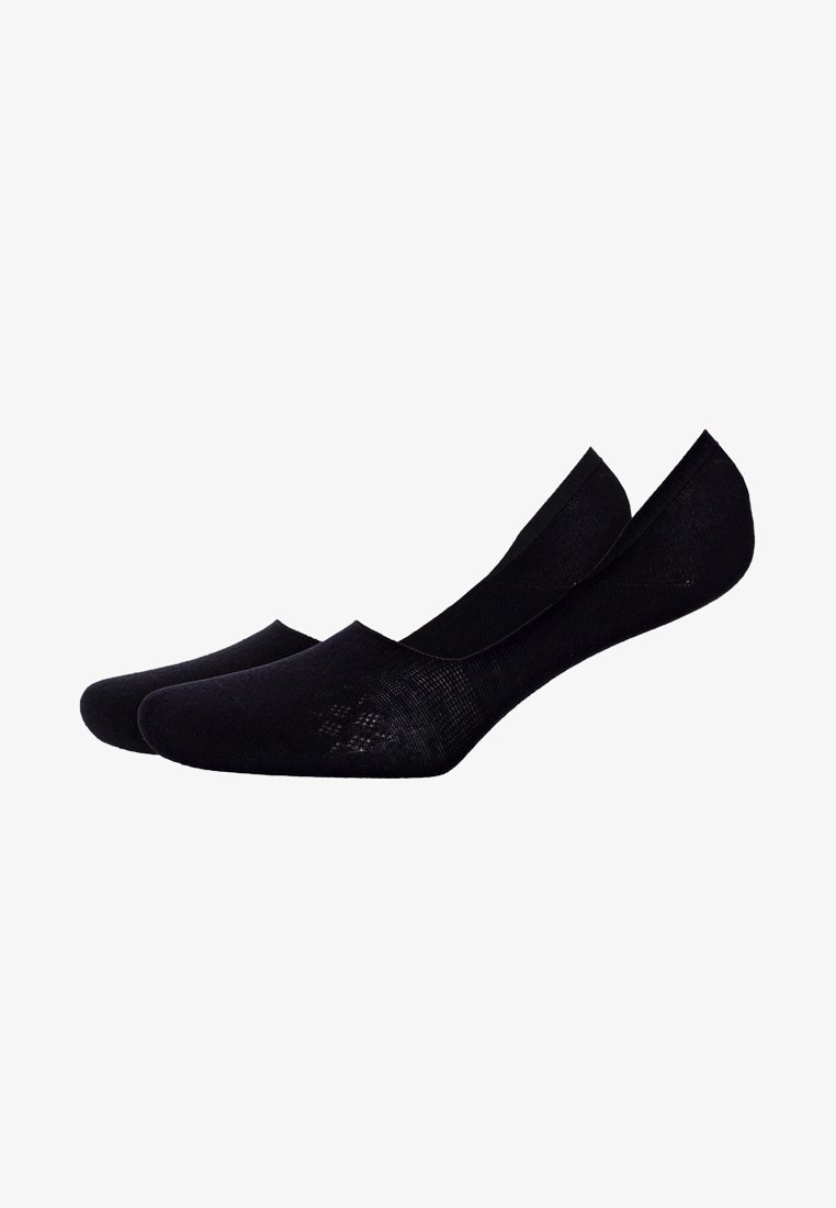 Burlington - 2 PACK - Socquettes - black
