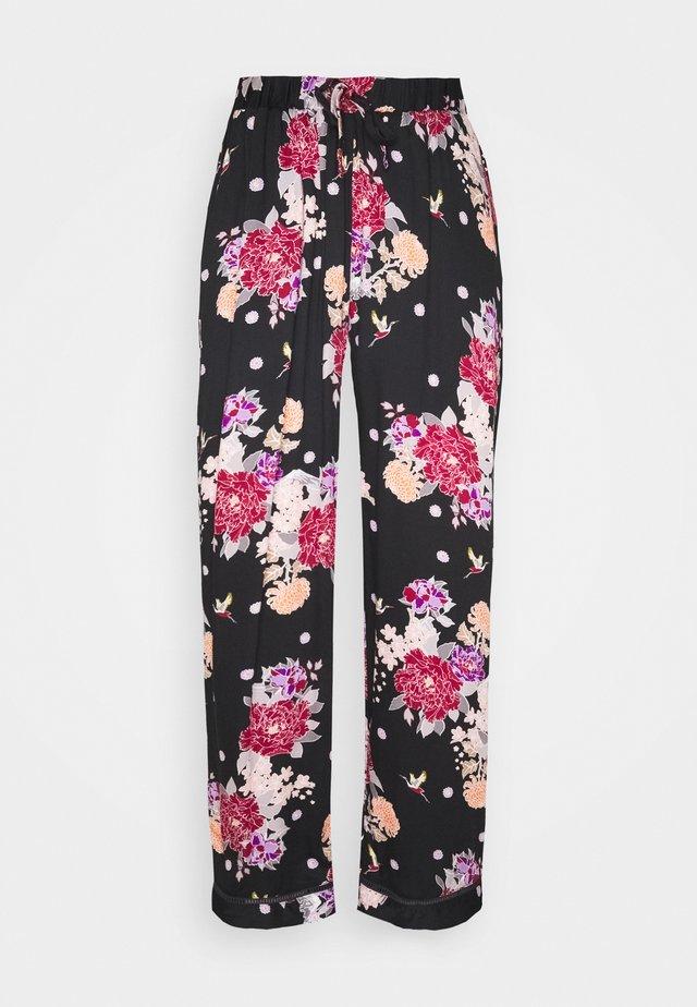 KIKU FLORAL LUXE TROUSER - Pantaloni del pigiama - multi