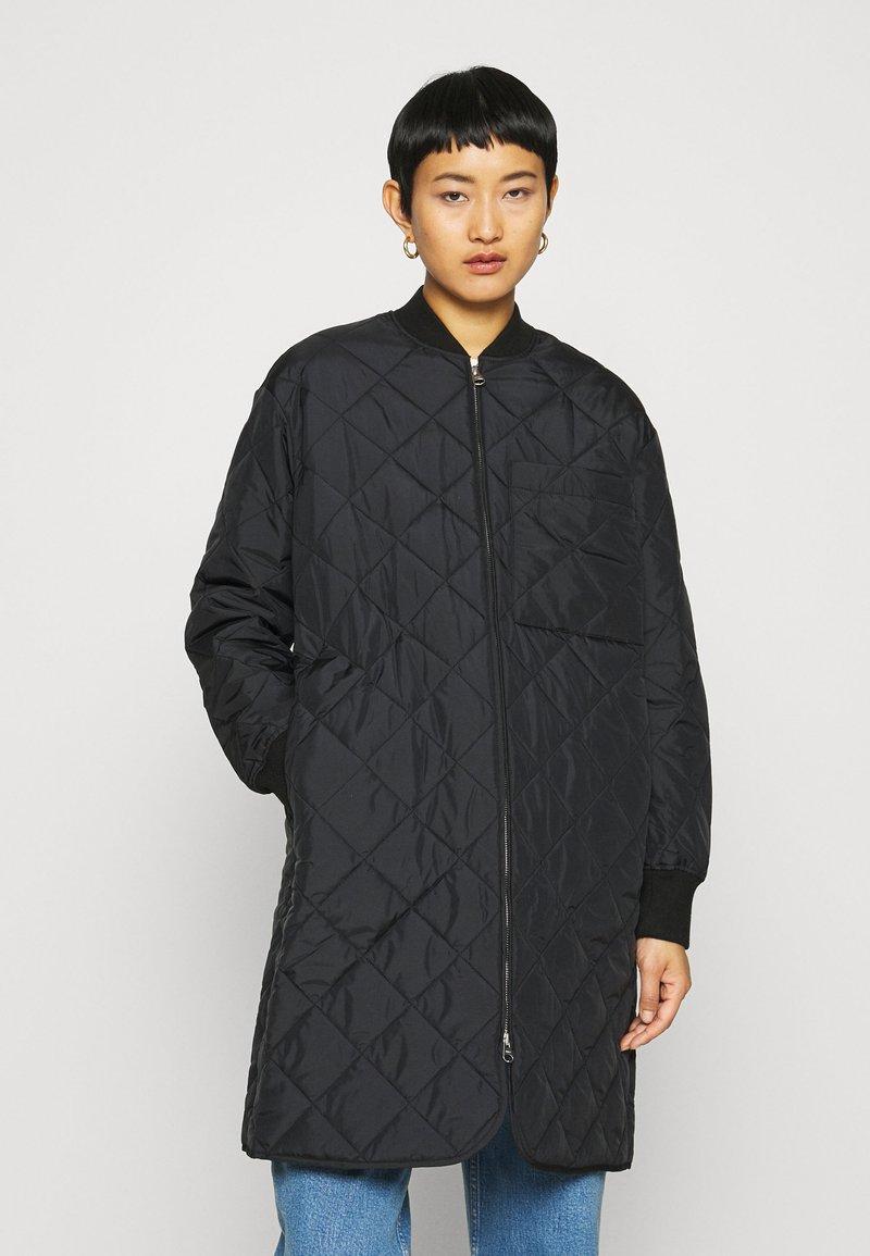 ARKET - JACKET - Krótki płaszcz - black dark