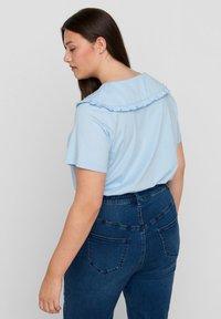 Zizzi - Print T-shirt - light blue - 2