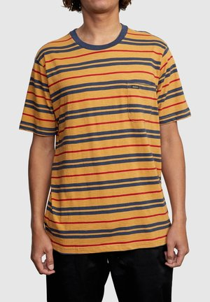 CAPISTRANO - Print T-shirt - golden rod