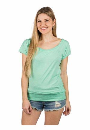 HILDE - Basic T-shirt - dusty jade