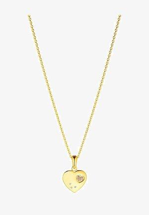 MIT ANHÄNGER - Halsband - gold-coloured