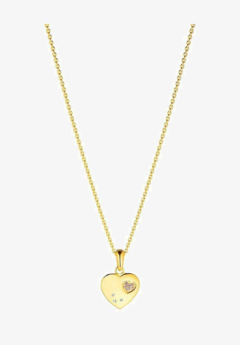 Prinzessin Lillifee - MIT ANHÄNGER - Necklace - gold-coloured