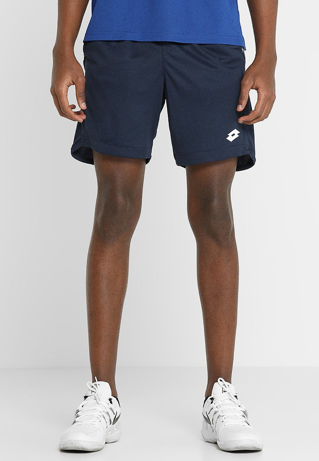 TENNIS TEAMS SHORT - Pantaloncini sportivi - navy blue