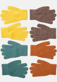 Lindex - GLOVES MAGIC COLOR 6 PACK UNISEX - Gloves - dusty turquoise - 1