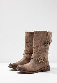 Felmini - GREDO - Cowboy/Biker boots - noumerat camel - 4