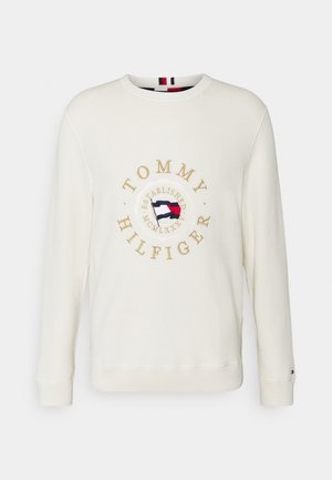 STRUCTURED GRAPHIC - Jumper - ivory