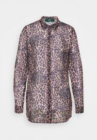 CLOUIS  - Button-down blouse - brown
