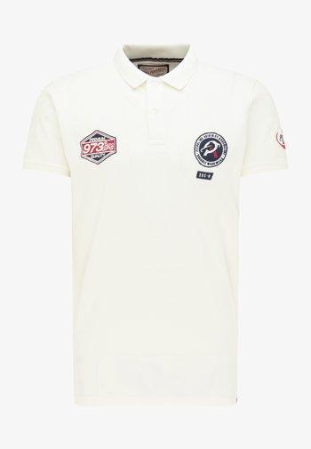 Polo shirt - chalk white