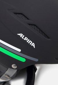 Alpina - BIOM UNISEX - Helm - black-grey matt - 7